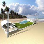 Savia proyectos Render Proyecto Wavesurfer hotel