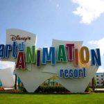 Savia proyectos Resort tematizado Disney letras art of animation multicolor