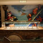 Savia proyectos buffets-infantiles-tematicos oso panda pirata pulpo en restaurante buffet
