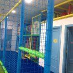 Savia proyectos club duendes vista lateral piscina de bolas