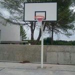 Savia proyectos consellería canasta de baloncesto en cancha
