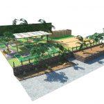 Savia proyectos proyecto campo minigolf y petanca vista frontal