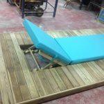 Savia proyectos hamaca sobre tarima de madera vista trasera encaje