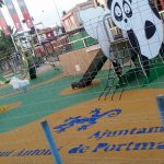 pavimento de seguridad zona infantil insitu Savia Proyectos Ayto de Portmany