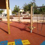 Savia proyectos parque infantil pavimento seguro columpios Ayto Palmanyola