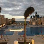 Savia proyectos vista aérea hotel Fantasia Bahia Principe piscinas palacio princesa