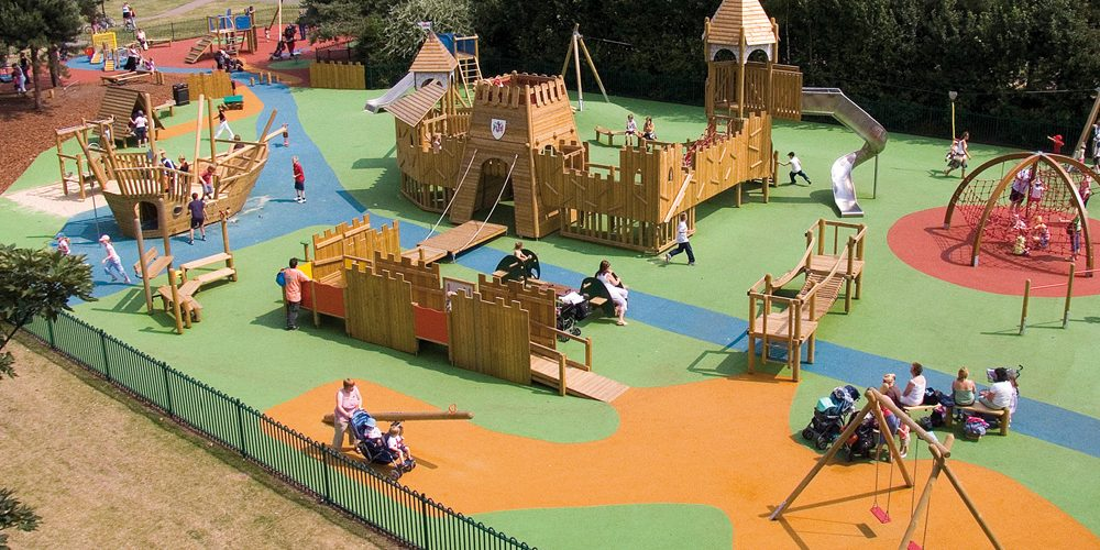 Eibe parques infantiles Savia Proyectos