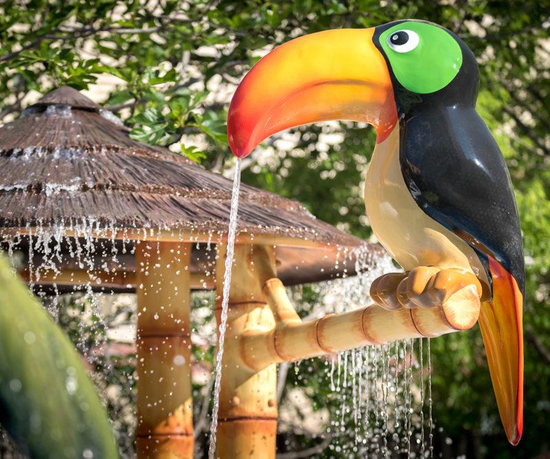 Savia proyectos splash pool tucán GHT Hotel Balmes