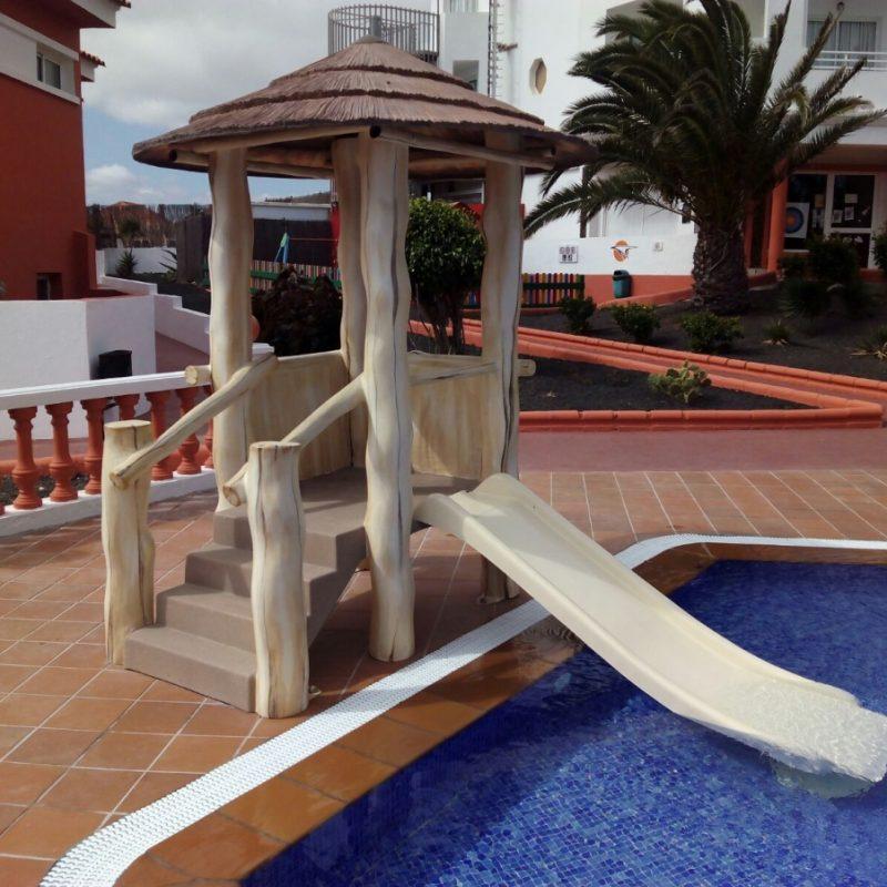 Savia proyectos piscina infantil Globales Hotel Costa Tropical