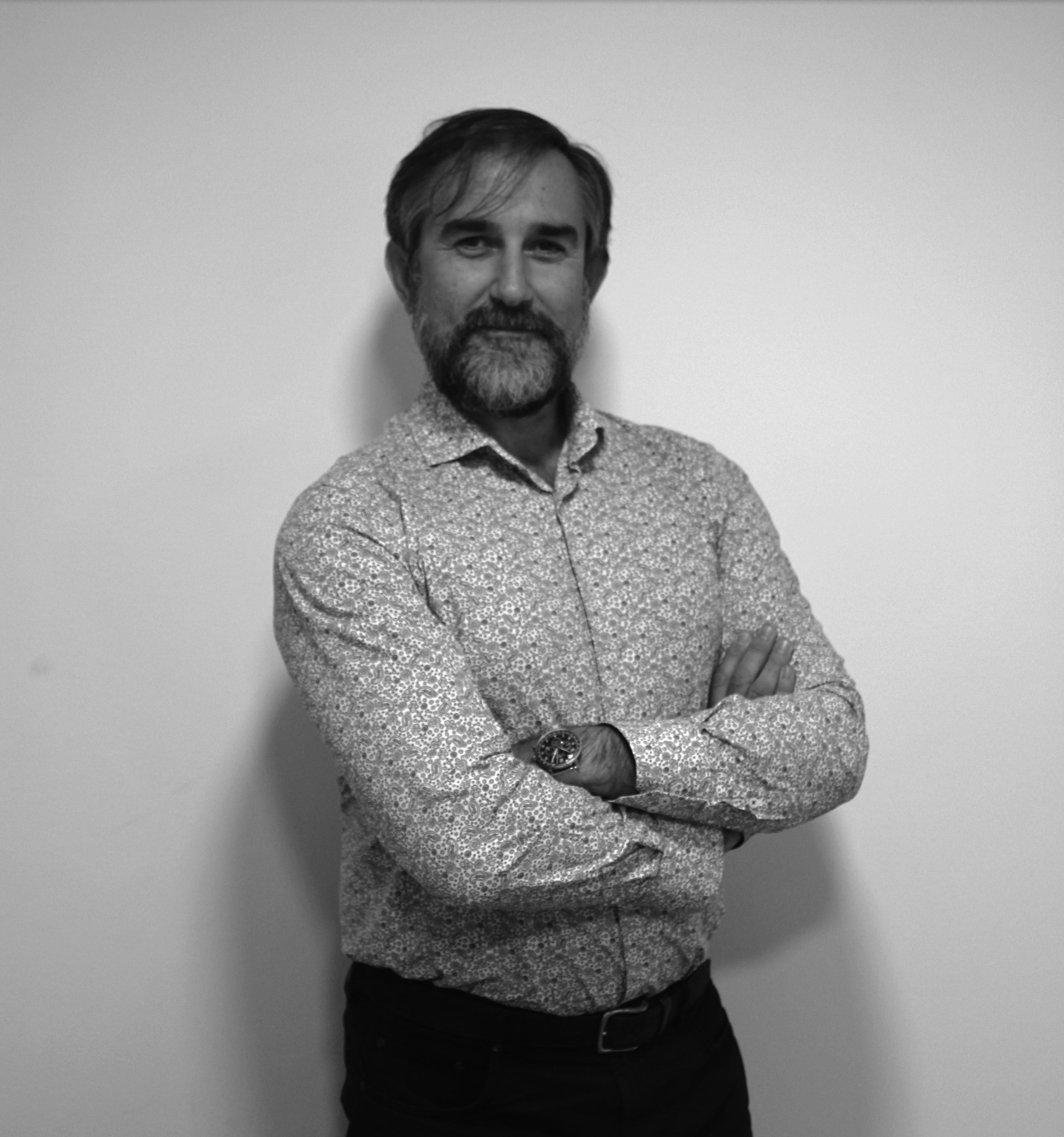 Savia proyectos foto blanco y negro Javier Diez (Delegado de la islas canarias)