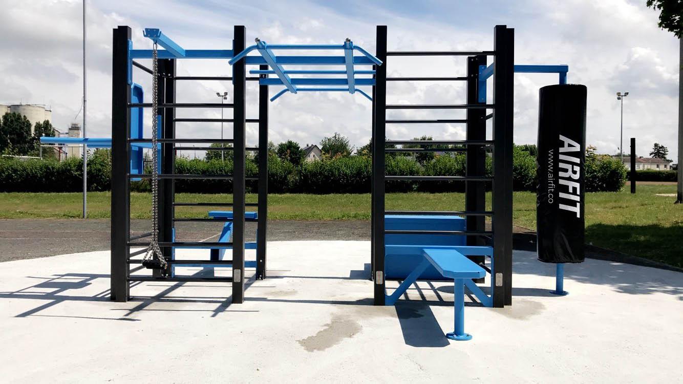 estacion workout crossfit airfit