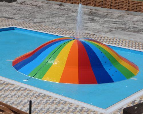 Savia Airwet Bubble multicolor Acuátic Play piscina