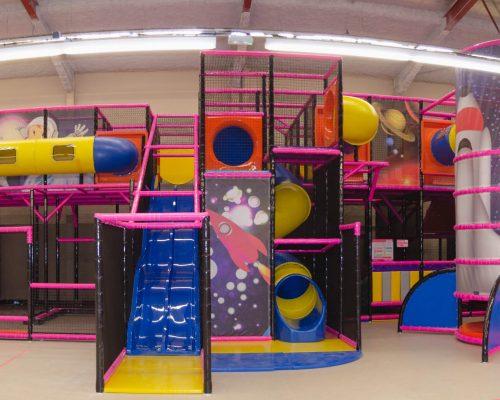 Savia Soft Play parques infantiles espacio