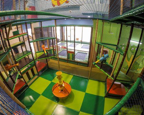 Savia Soft Play parques infantiles dragón