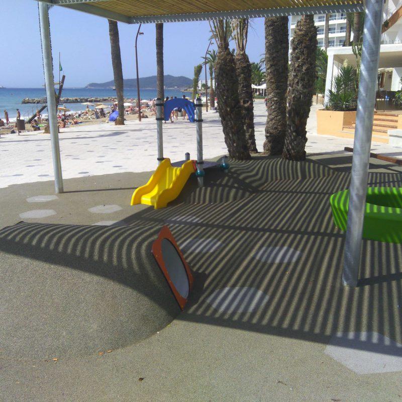 Savia Proyecto porche infantil playa sombra