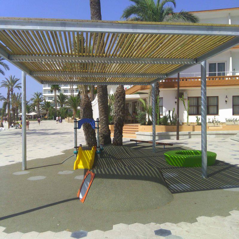 Savia Proyecto porche infantil playa