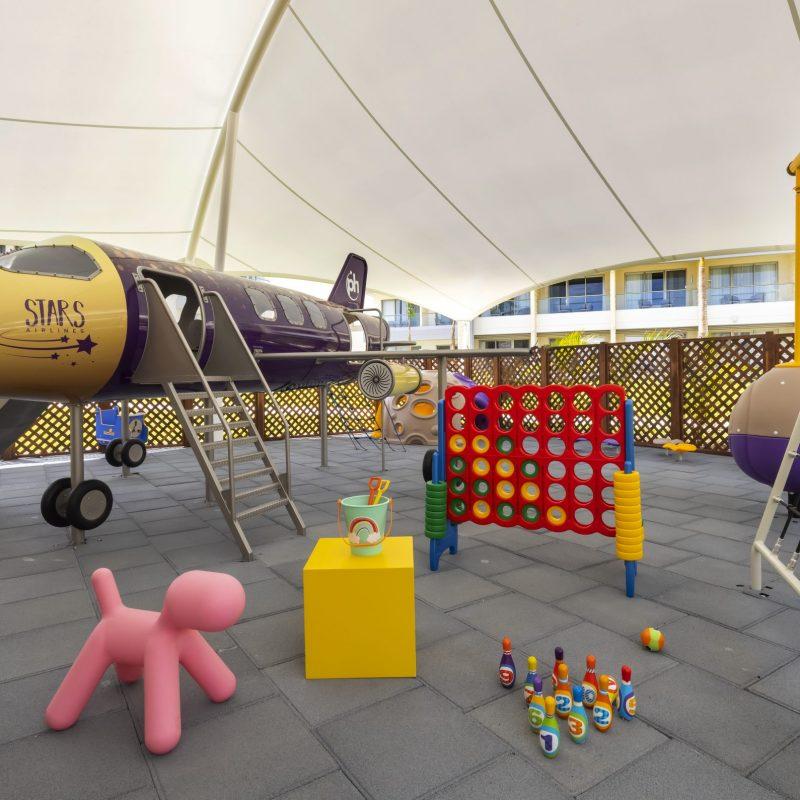 juego ocio infantil savia proyectos planet hollywood