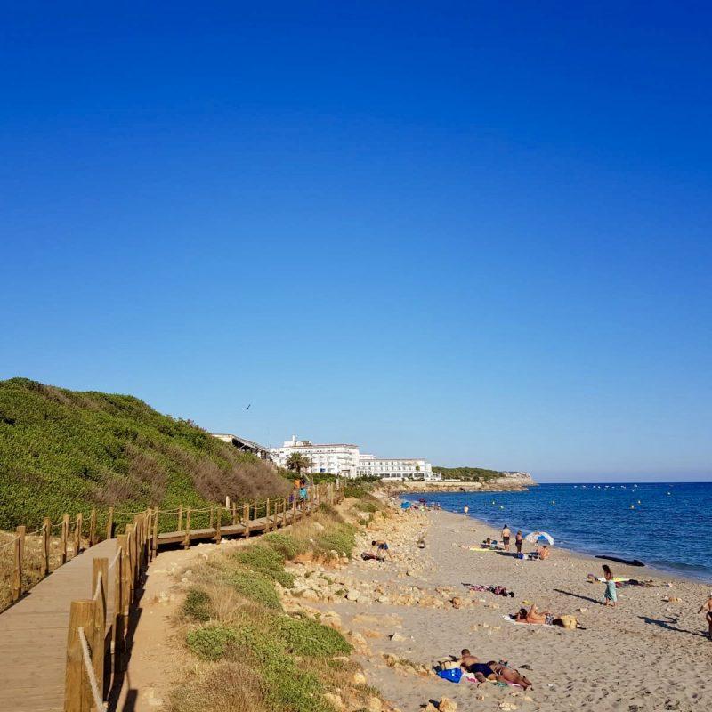 Savia Proyecto Migjorn Menorca pasarela de madera